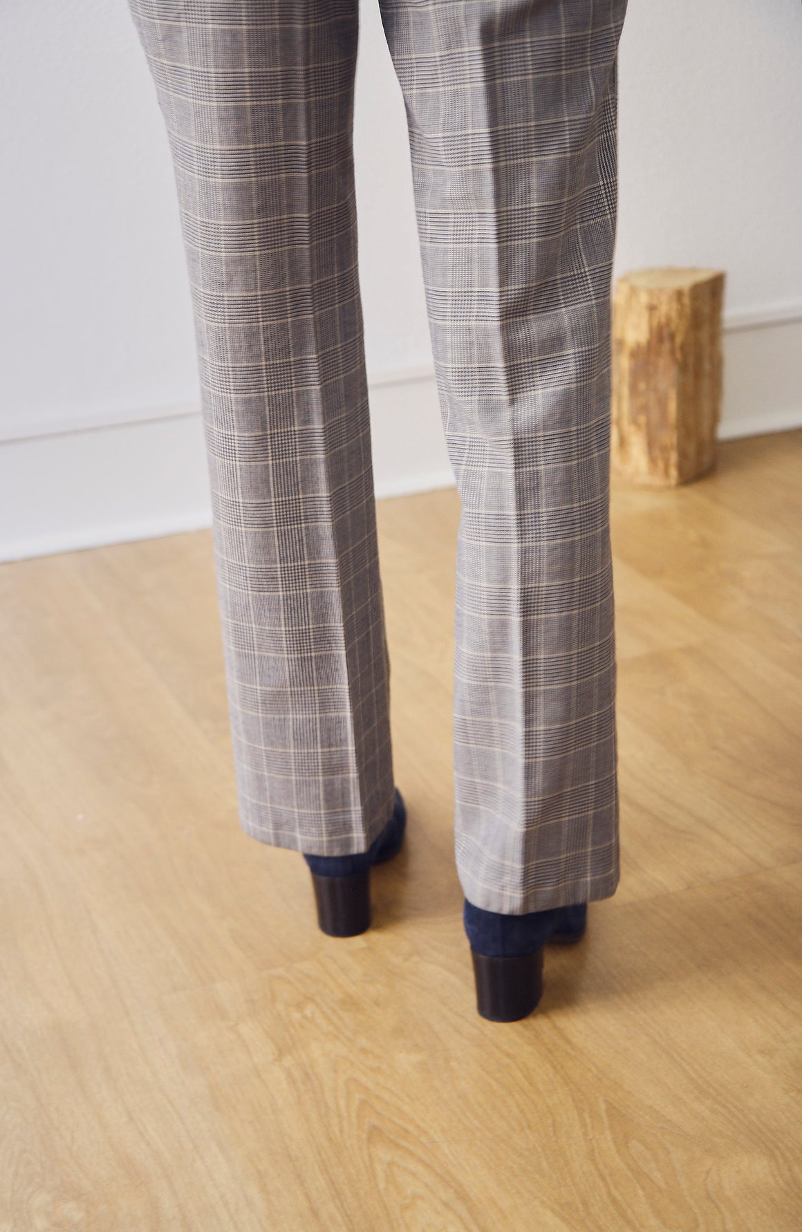 90s Checked Trousers
