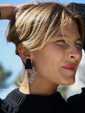 Violeta Transparent Earrings