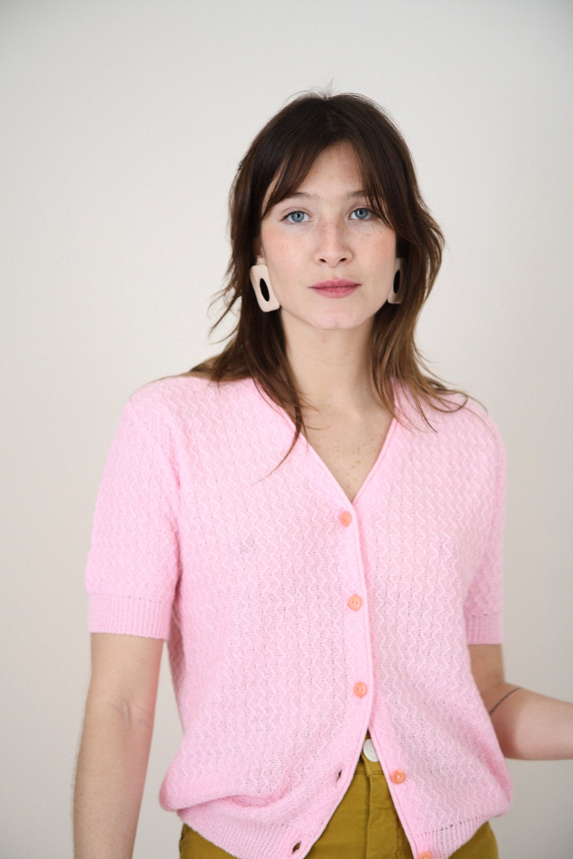 Vintage Floro Pink Knit top