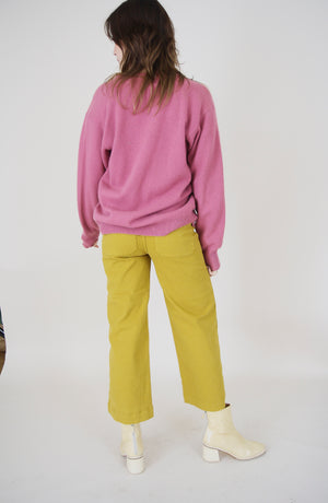 Dora Denim Pants Saffron