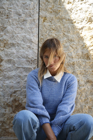 Parisian Gigi sweater - French blue