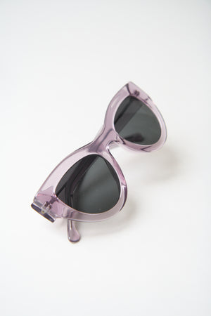 Phoenix Cat Eyes Amethyst Sunglasses