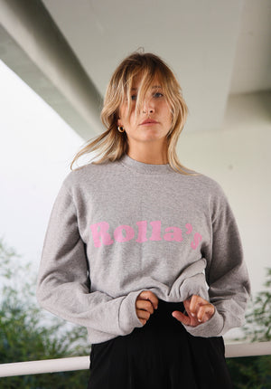 Slouch Logo Sweater Heater