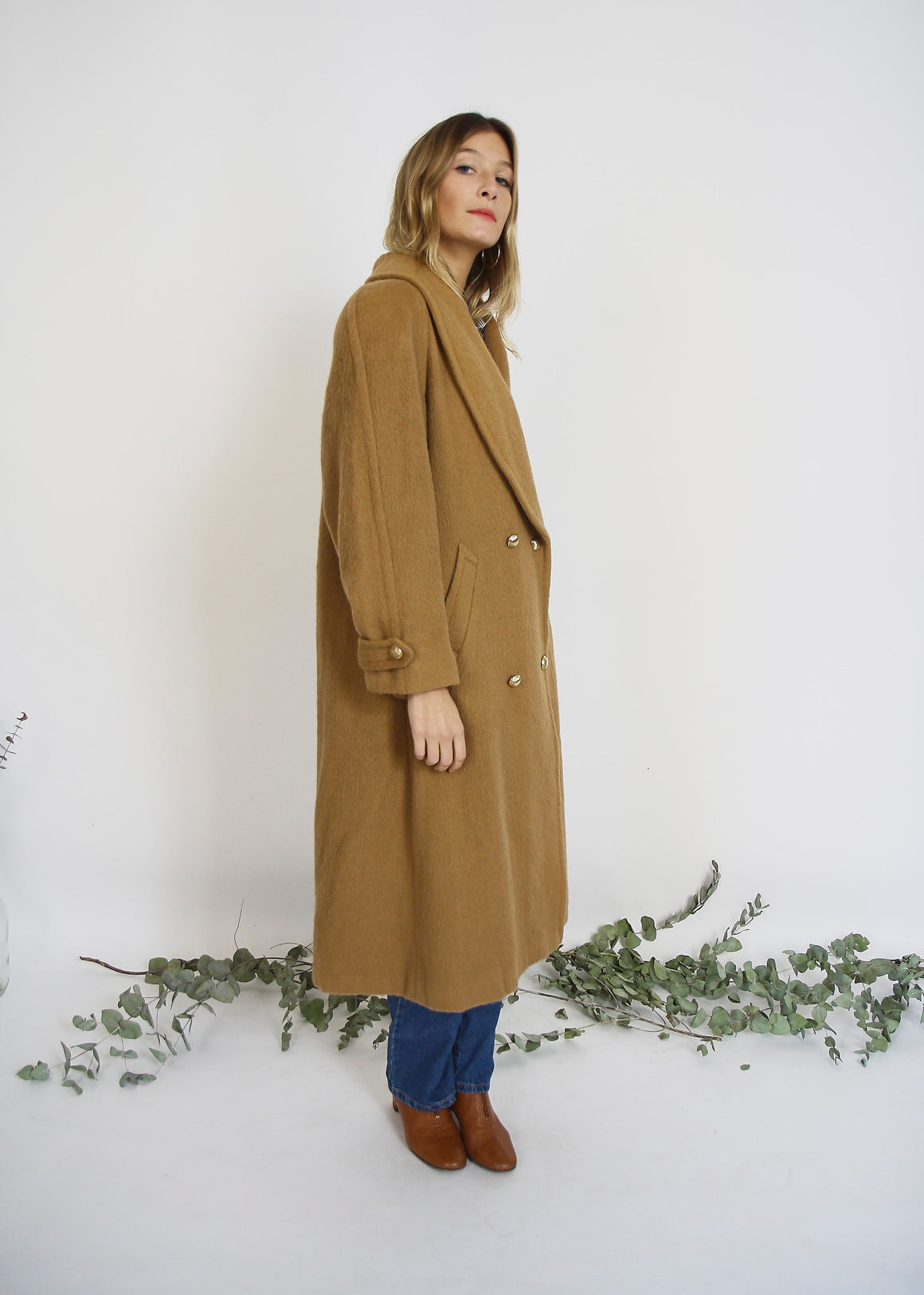Camel Tailored Coat