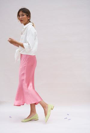 Shocking Pink Bia Skirt