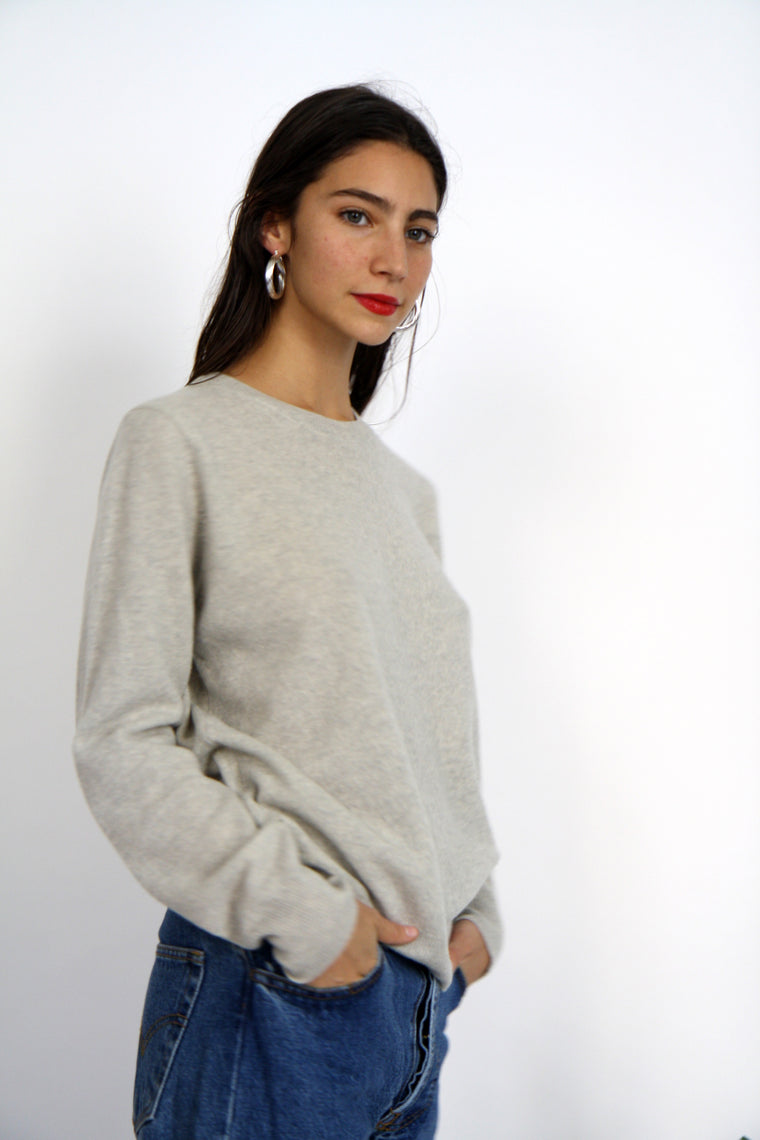 Amy Grace Grey Cashmere Jumper