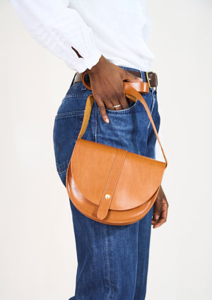 Lou Brown Satchel
