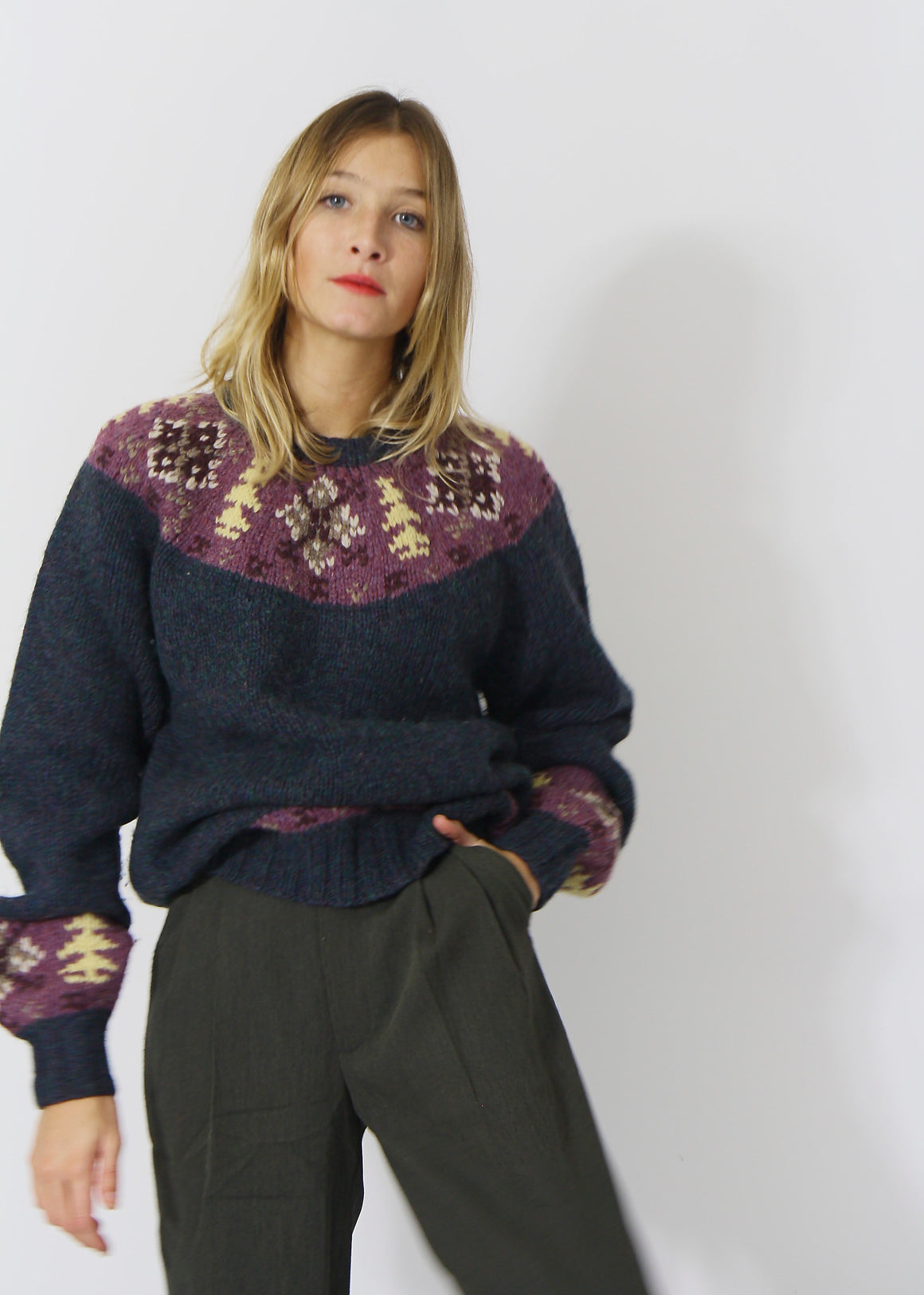 Wool Fairisle Jumper