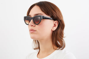Phoenix Black Tortoise Sunglasses
