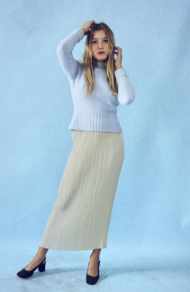 Vintage 90s Micro Pleat Skirt