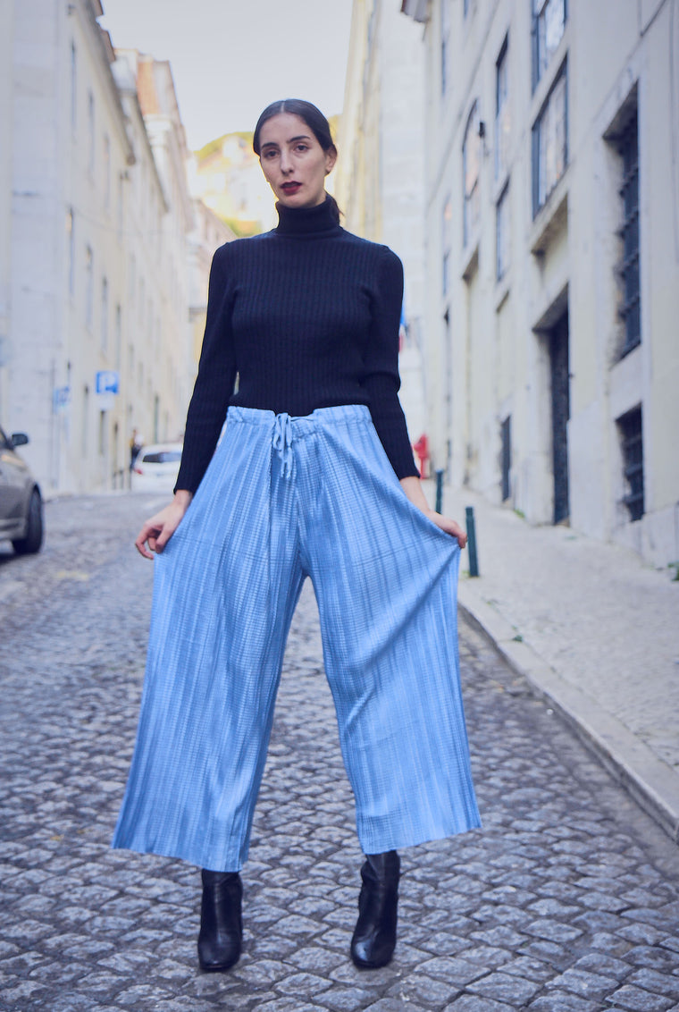 90s Vintage Pleated Palazzo Trousers
