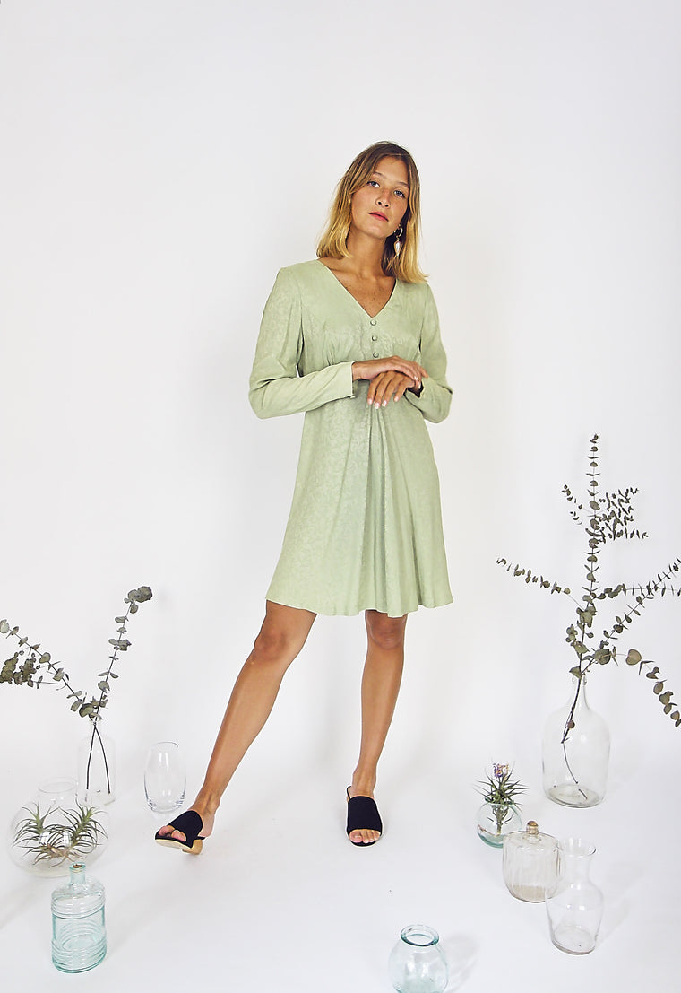 Pretty Pistachio Summer Dress