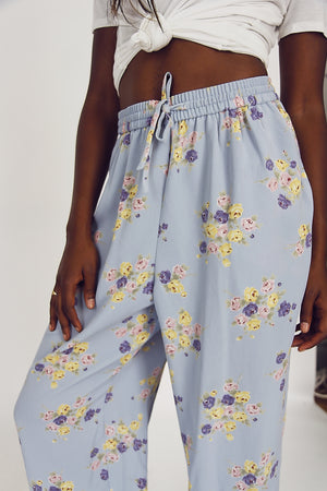90s Vintage Loose Summer Trousers
