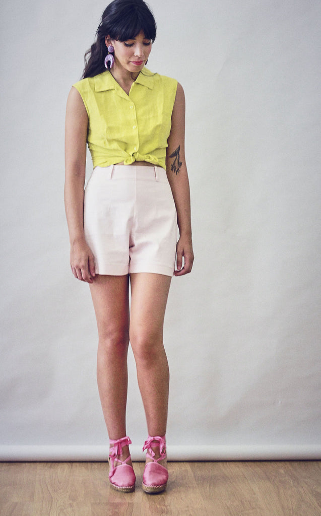 Vintage High Waisted Summer Shorts