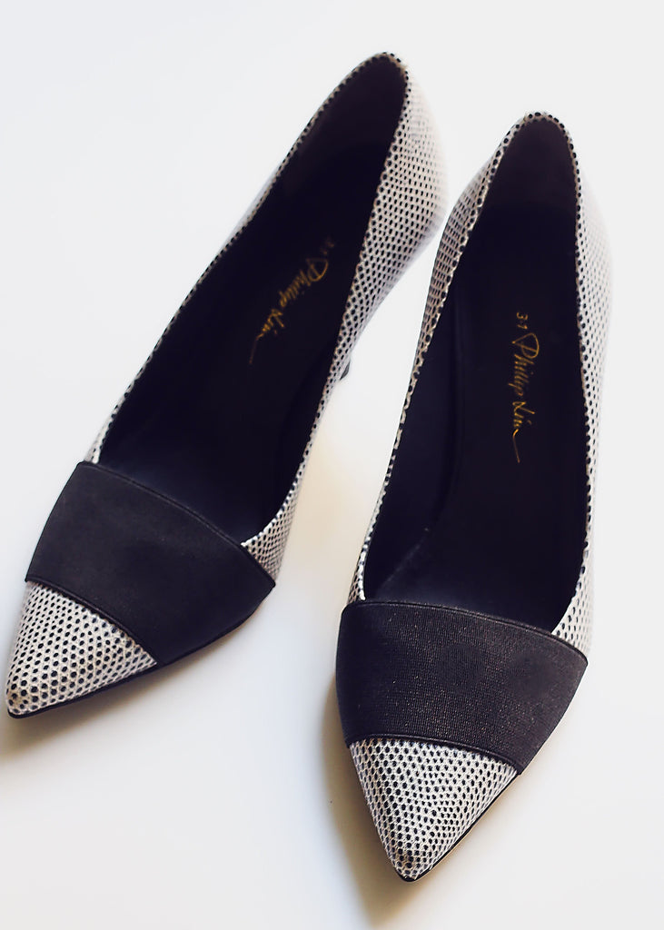 Monochrome Leather Philip Lim Courts
