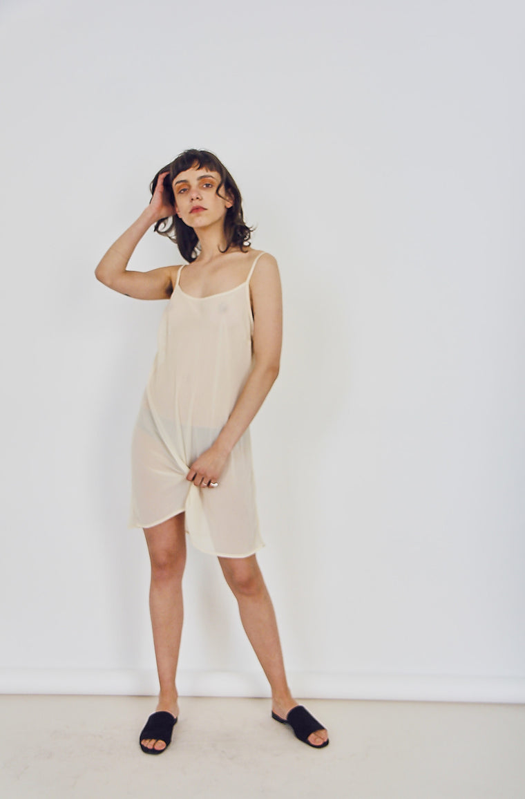 90s Sheer Slip Dress