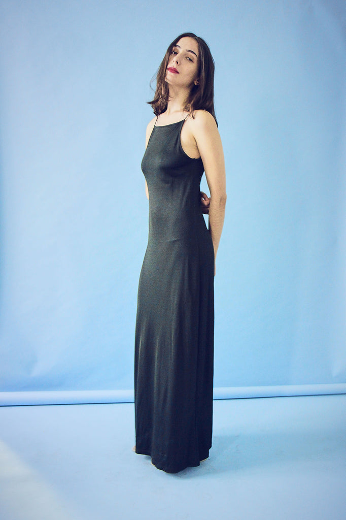 90's MM Maxmara Slip Dress.