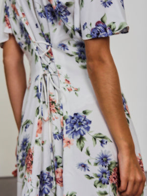 Floral Key Hole Dress