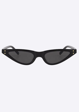 Notchy Slitted Sunglasses