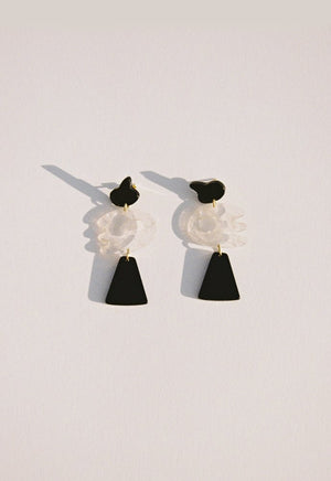 Rio Black Earrings