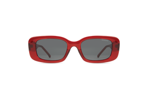 Marco Rectangle Red Sunglasses