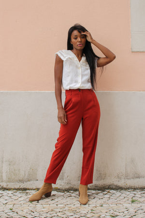 Palma Terracota Trousers