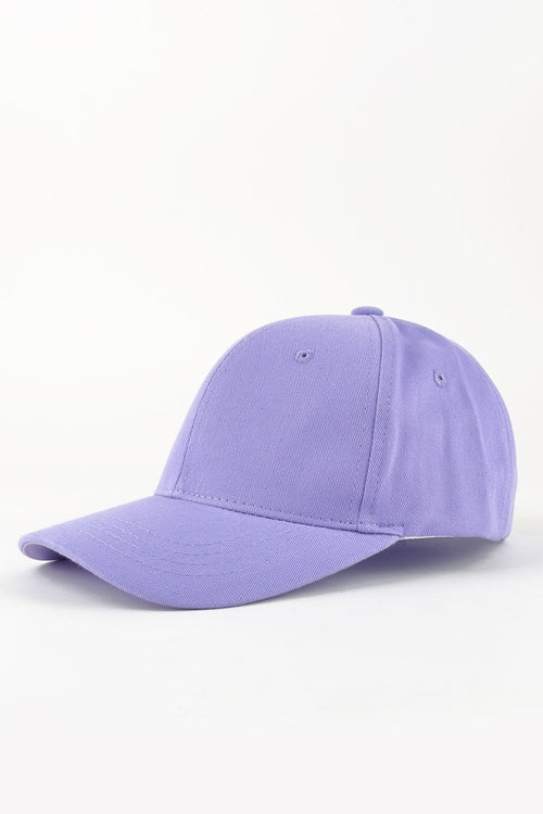 Lavender Adjustable Strap Cap