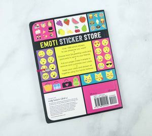 Emoti Sticker Book (Over 1000 stickers)