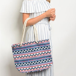 Boho Canvas Bag