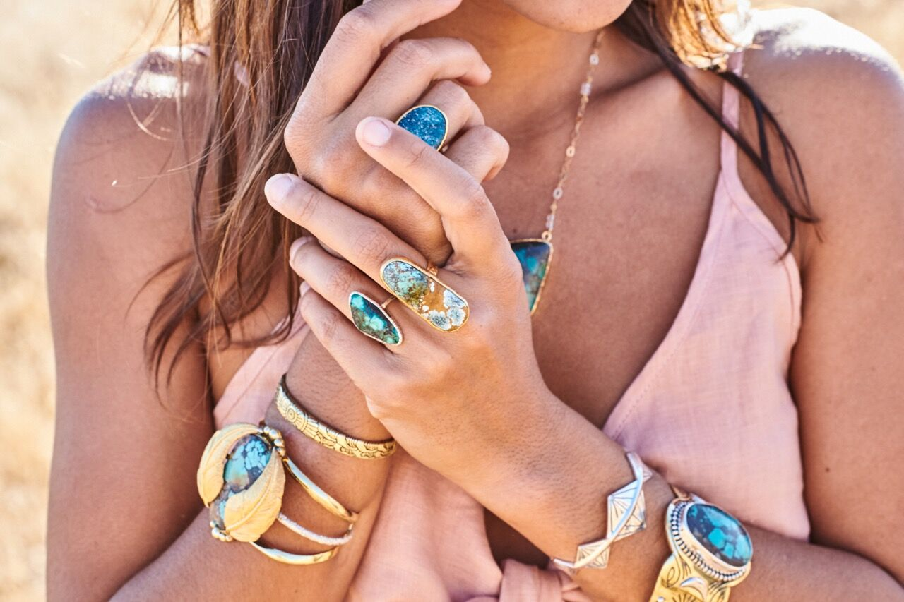 NEW COLLECTION :: TURQUOISE TOTEM