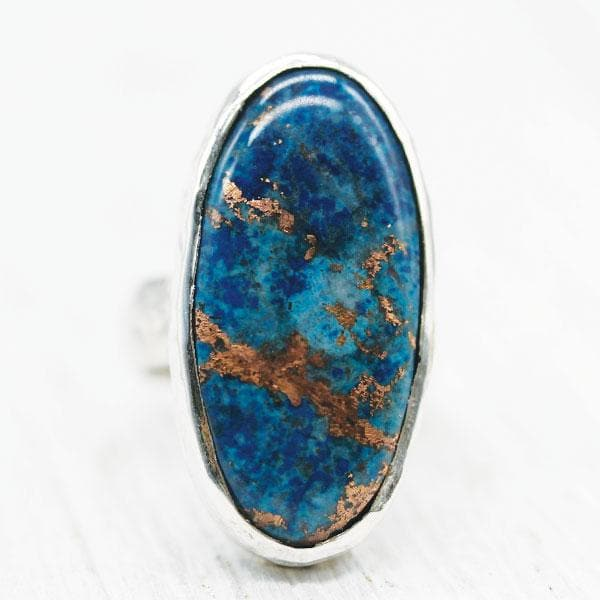 Bluebird Copper Ring