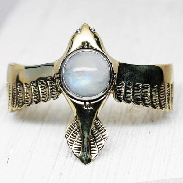 As Above Cuff :: Moonstone