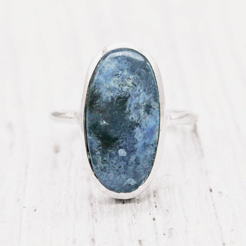 Dumortierite Elfin Ring