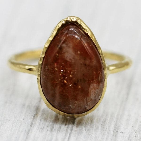 Sunstone Elfin Ring