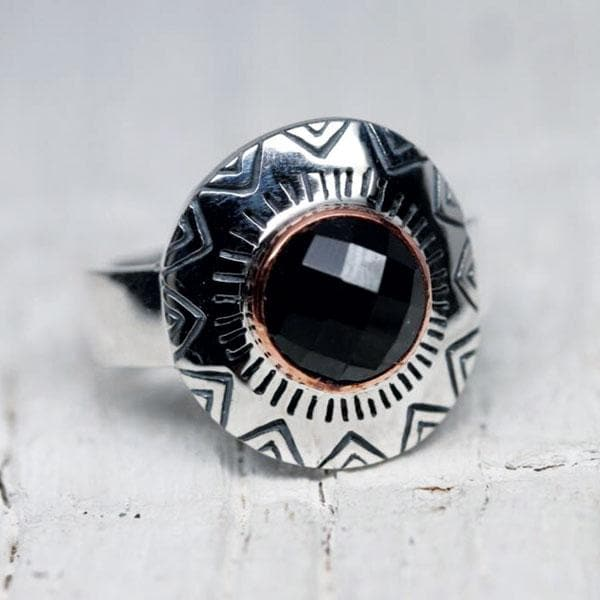 Clarity Ring : Onyx