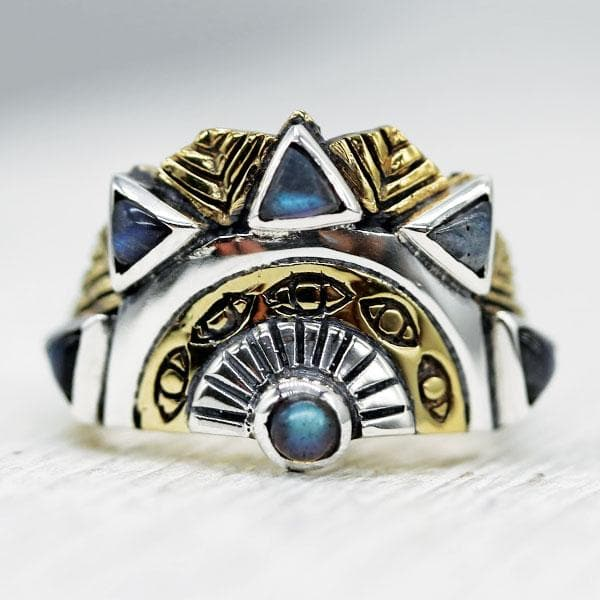 Sunbeam Ring :: Labradorite