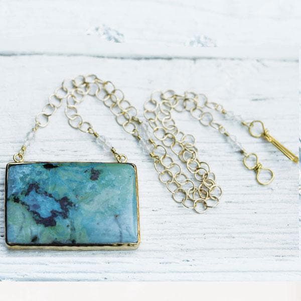 Primavera Chrysocolla Necklace