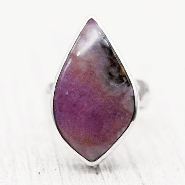 Cobalto Calcite Ring