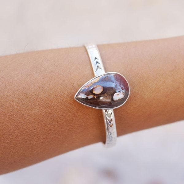 Heirloom Cuff || Yowah Opal