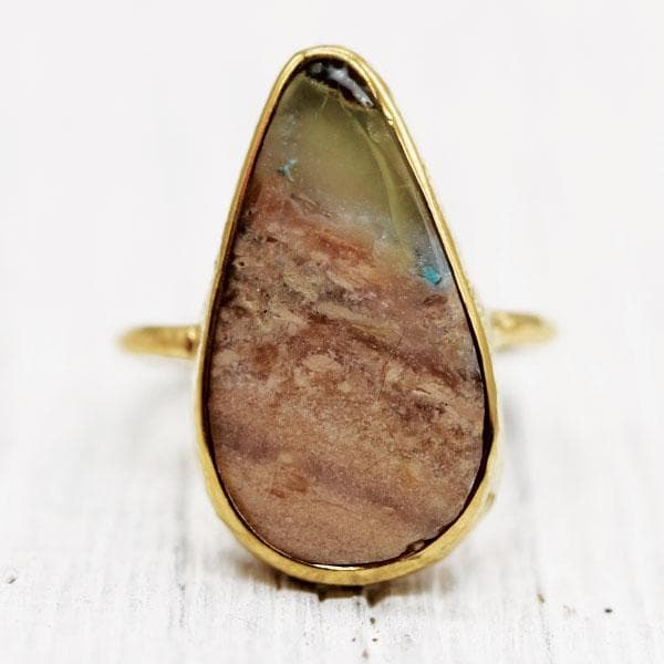 Colla Wood Elfin Ring