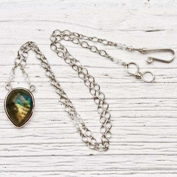Labradorite Necklace :: see more colors