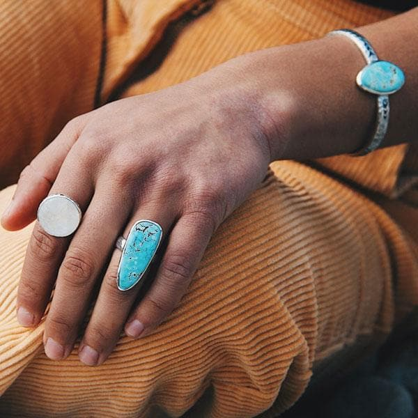 Heirloom cuff :: Persian Turquoise