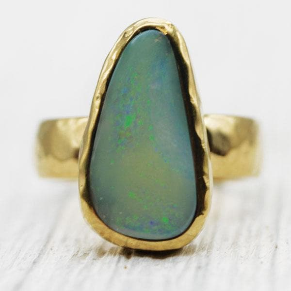 Coober Pedy Opal Ring