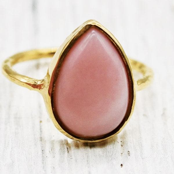 Blush Opal Elfin Ring