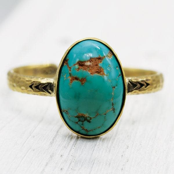 Heirloom Cuff || Arizona Turquoise