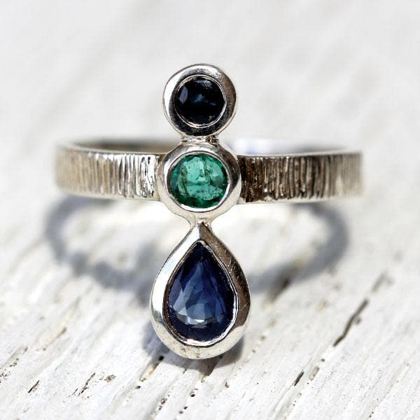 Royal Trinity Ring || Earth