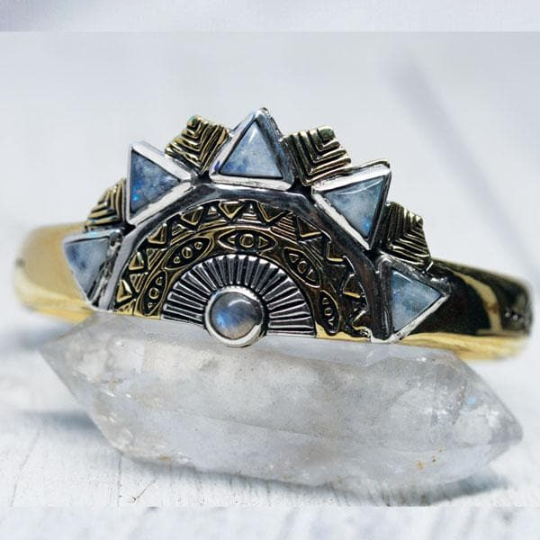 Sunbeam Cuff :: Moonstone