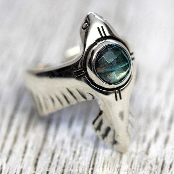 As Above Ring :: Labradorite