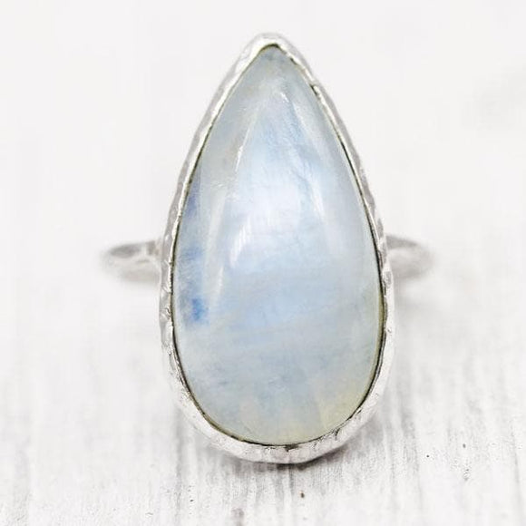 Moonstone Elfin Ring