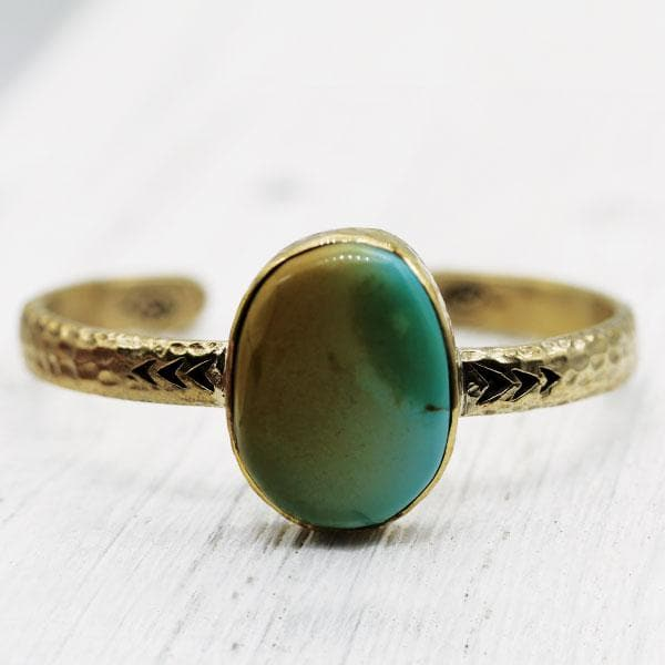 Heirloom Cuff || Colorado Turquoise
